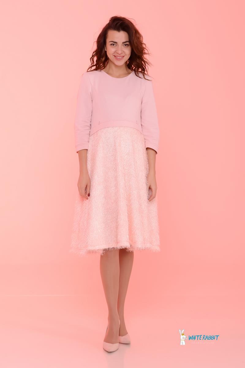 Подробнее Нежное платье для беременных и кормящих Sweet Cake  нежно-персиковое 81745c29d9f