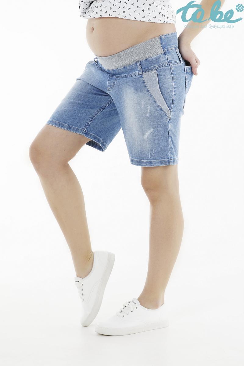 6c26e72d88ca Удлиненные джинсовые шорты с потертостями для беременных и после ...