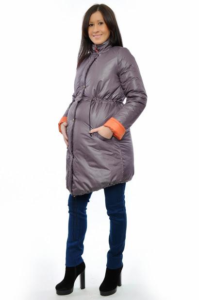 Куртка для беременных демисезонная темно-серая   ОДЕЖДА ДЛЯ ... 6711fb67483