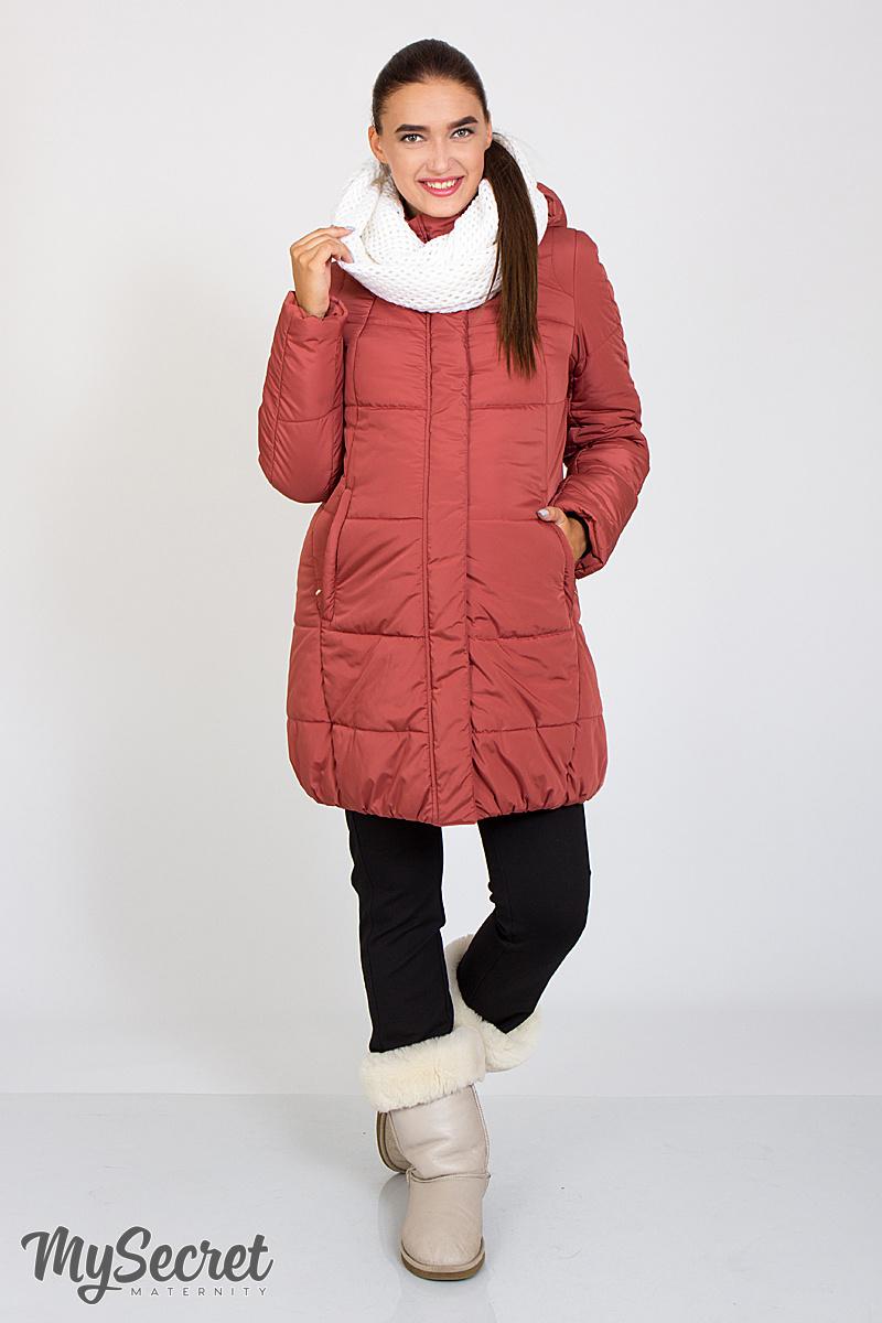 a2c7bc37627604f Очень теплая зимняя куртка для беременных и после Jena пыльный кедр