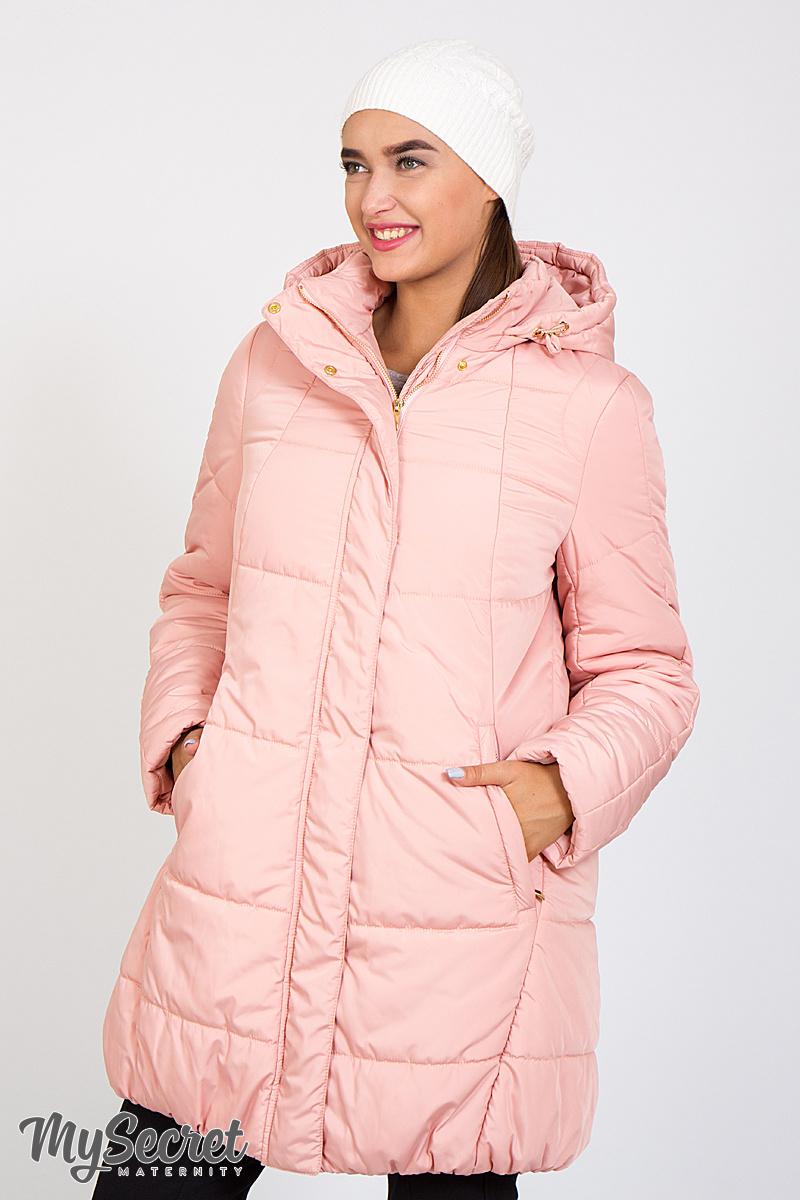 e7df140984294c7 Очень теплая зимняя куртка для беременных и после Jena пудра ...