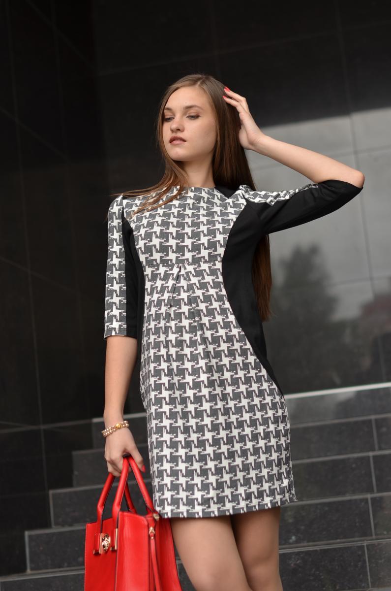 7edab8bb987e Платье для беременных черно-белое   ОДЕЖДА ДЛЯ БЕРЕМЕННЫХ   Купить ...